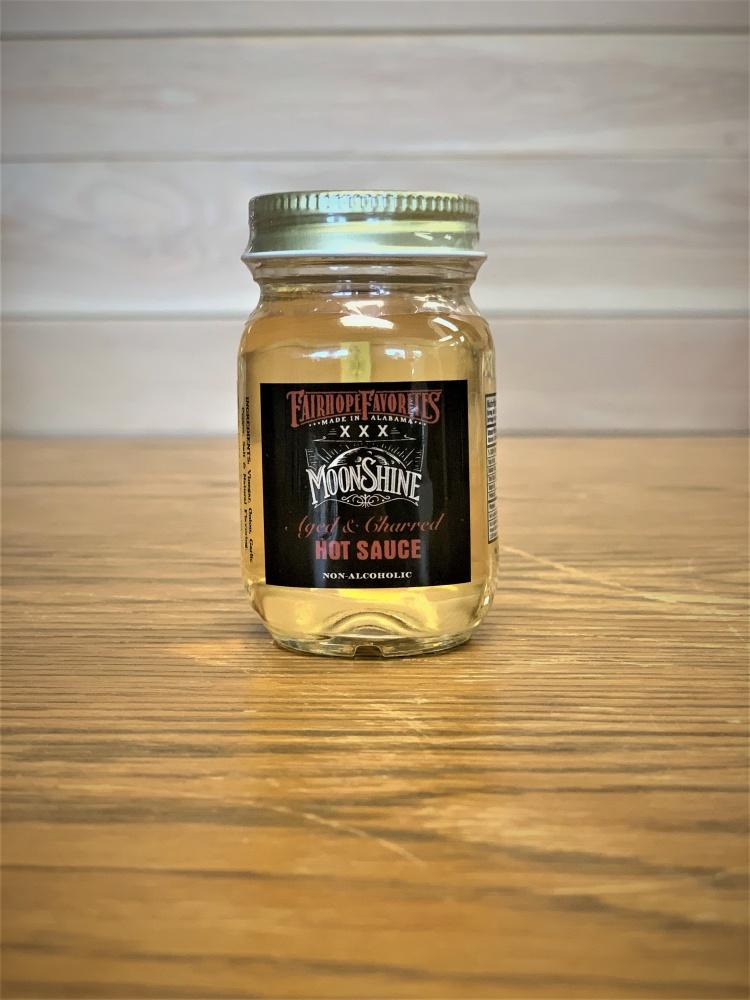 Aged & Charred Moonshine Hot Sauce Mini Jar 60817