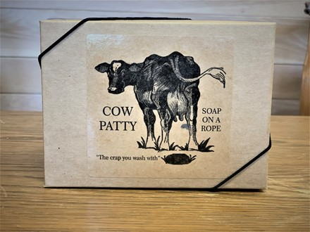 Cow Patty Soap on a Rope 70912