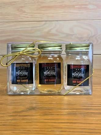 Moonshine Hot Sauce Mini Jar- 3 Pack 61217