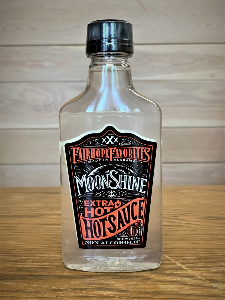 Extra Hot Moonshine Hot Sauce 7oz 12815