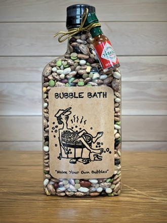 "Redneck Bubble Bath- ""Make Your Own Bubbles"" 21710"