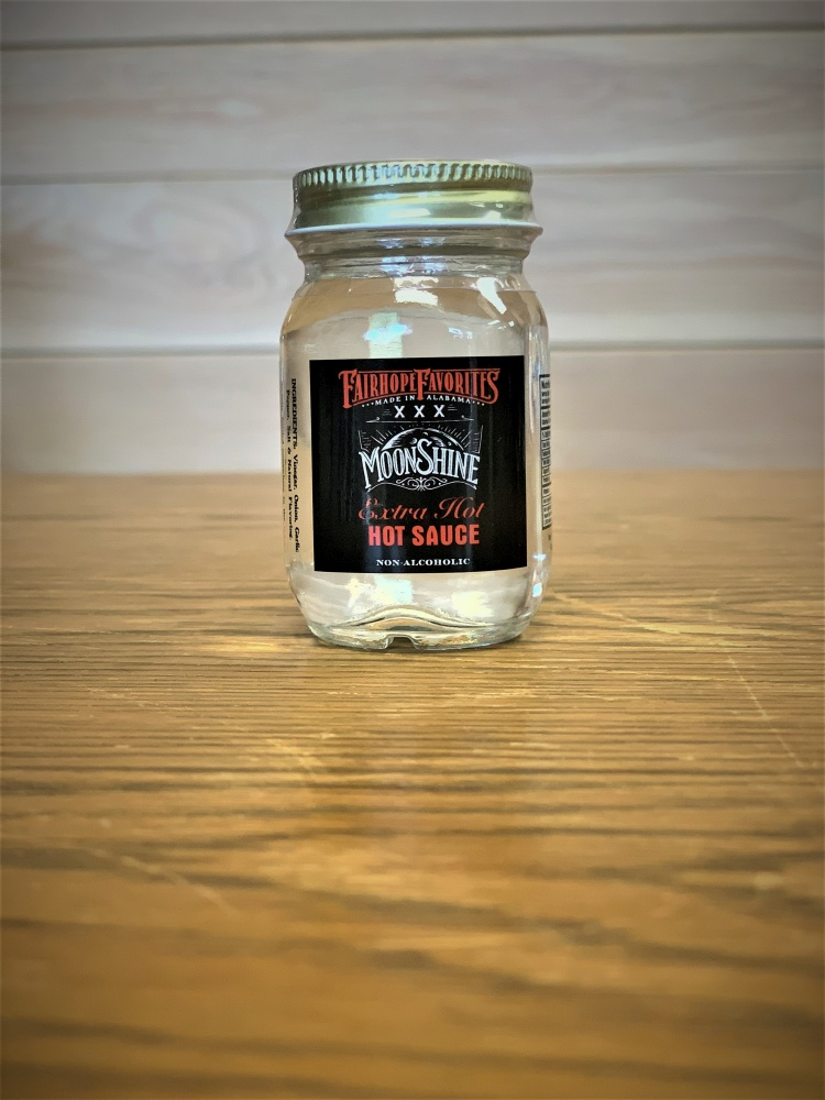 Extra Hot Moonshine Hot Sauce Mini Jar 60917