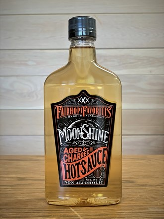 Aged & Charred Moonshine Hot Sauce Pint 81990