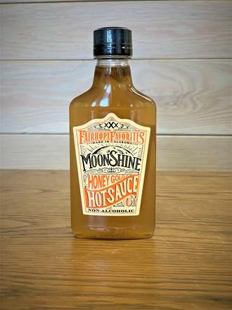 Honey Gold Moonshine Hot Sauce Small Flask 12620