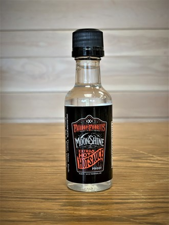 Extra Hot Moonshine Hot Sauce 2oz 30114