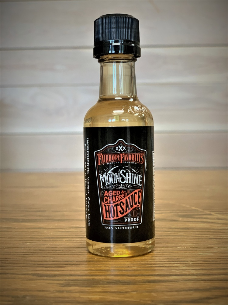 Aged & Charred Moonshine Hot Sauce 2oz 51713
