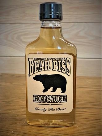 Bear Piss Moonshine Hot Sauce Small Flask 30720