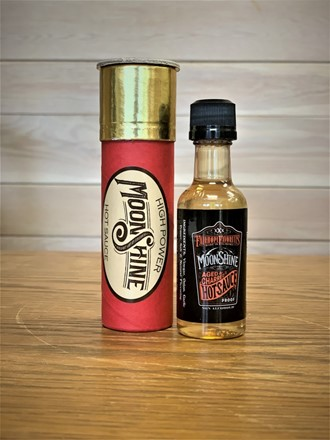Shotgun Shell with Moonshine Hot Sauce 61418