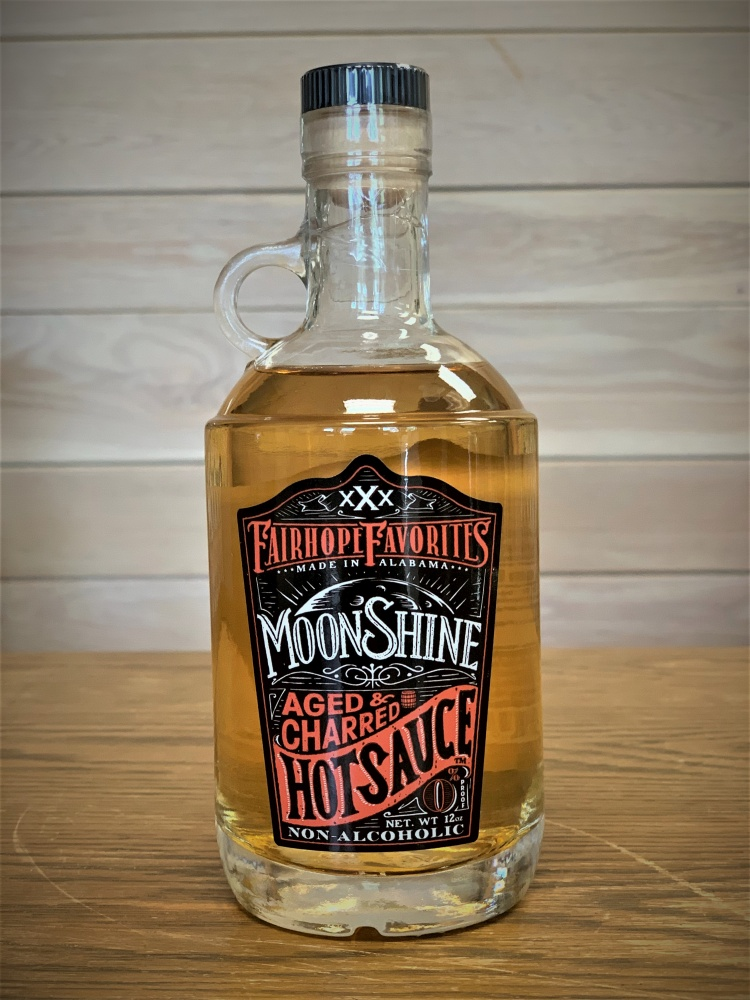 Aged and Charred Moonshine Hot Sauce 30813