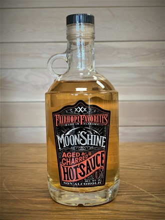 Aged & Charred Moonshine Hot Sauce Jug 30813